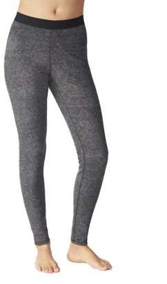Cuddl Duds ClimateRight by Women's Reversible Minky Warm Underwear Legging