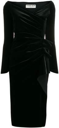Chiara Boni Le Petite Robe Di velvet midi dress