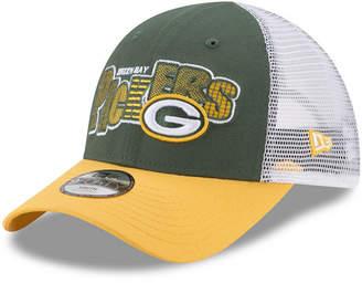 New Era Boys' Green Bay Packers Trucker Joy 9FORTY Cap
