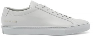 Common Projects Original Achilles Low Top Leather Trainers - Mens - Grey
