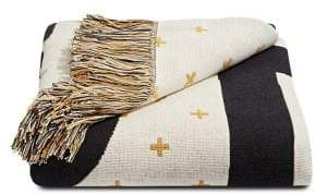 Martha Stewart Graphic Cotton Throw