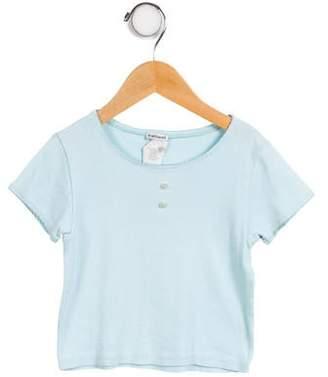 Cacharel Girls' Short Sleeve Knit Top