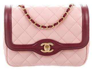 83d71a542a60 Chanel 2017 Mini Two-Tone Flap Bag