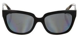 Prada Polarized Oversize Sunglasses