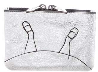 Marc by Marc Jacobs Metallic Leather Coin Purse Metallic Metallic Leather Coin Purse