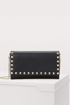 Valentino Gavarani wallet with chain strap