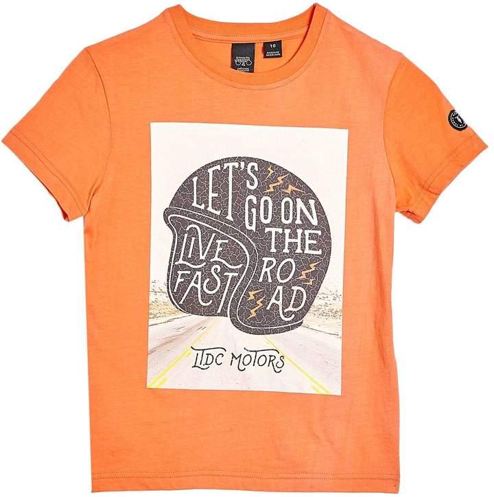 Mobypebo - Kurzärmeliges T-Shirt - orange