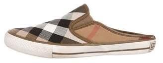 Burberry Nova Check Slide Sneakers