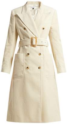 Bella Freud Jumbo cotton-corduroy trench coat