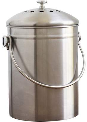 Natural Home 1.3-Gal Stainless Steel Compost Bin
