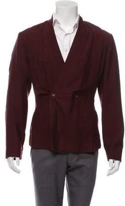 Rick Owens Wool & Silk Jacket