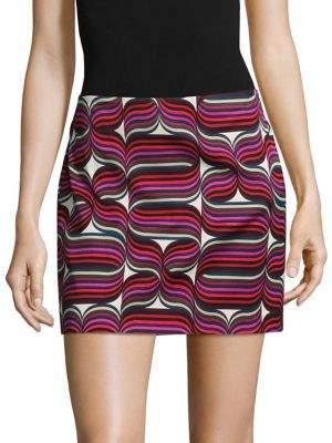 Trina Turk Rico Mini Pencil Skirt