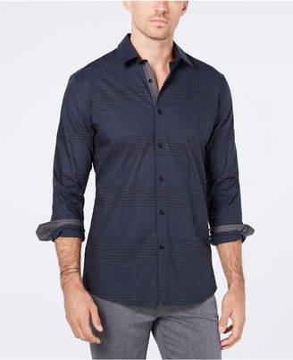 Ryan Seacrest Distinction Men's Woven Plaid Shirt, Created for Macy's