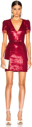 HANEY Lyz Dress in Crimson Red | FWRD