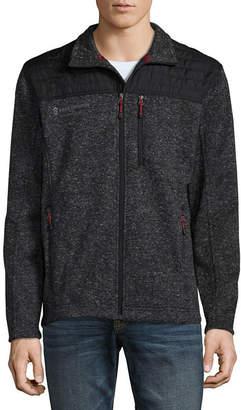 Free Country Sweater Knit Fleece Jacket