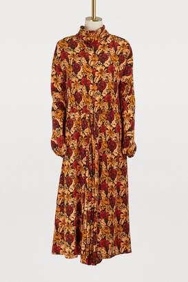 Prada Long sleeved midi dress