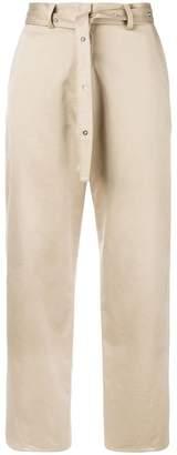 Hache high waist trousers
