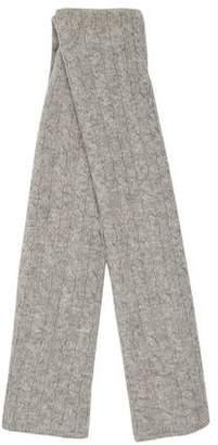 Sofia Cashmere Cashmere Cable Knit Scarf