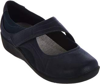 Clarks CLOUDSTEPPERS by Adjustable Mary Janes - Sillian Bella