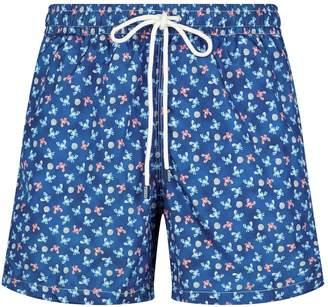 aa545eea2b Fedeli Crab Drawstring Swim Shorts