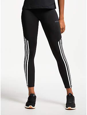 d622373724e adidas Design 2 Move High Rise 7/8 Training Tights, Black/White