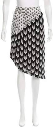 Rag & Bone Printed Mini Skirt