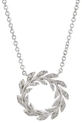 Cathy Waterman Women's Wreath Pendant Necklace
