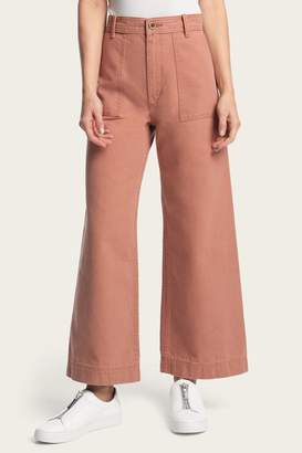 Frye Nadia Wide Leg Canvas Pant