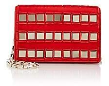 Tomasini Women's Studded Crossbody Bag - Red