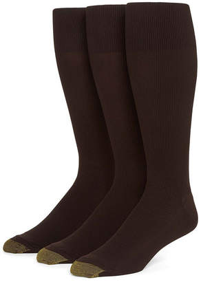 Gold Toe 3-pk. Dress Metropolitan Crew Socks