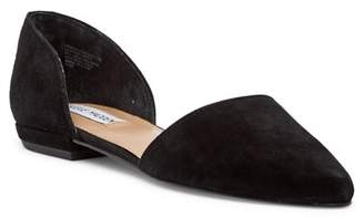 069690b7867 Steve Madden Black Slip On Women s flats - ShopStyle