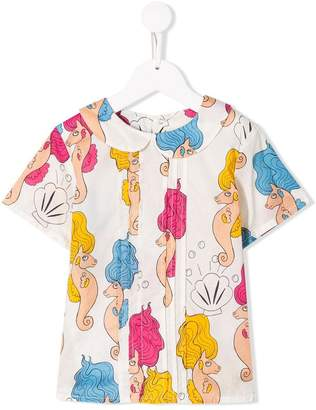 Mini Rodini seahorse print T-shirt