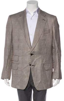Tom Ford Silk Herringbone Blazer