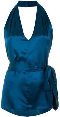 Tufi Duek halter neck blouse