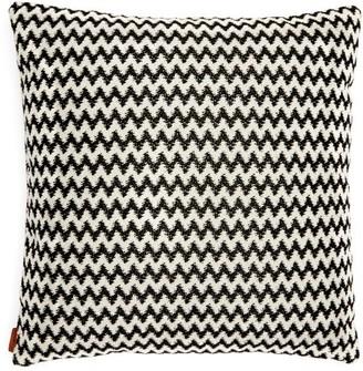 Missoni Home Varsavia Zigzag Cushion - Black White