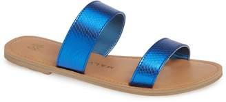 Azalea Malvados Icon Slide Sandal