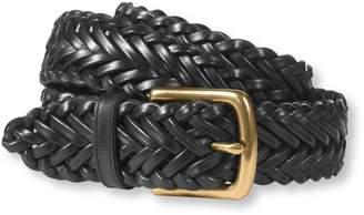 L.L. Bean L.L.Bean Essential Braided Leather Belt