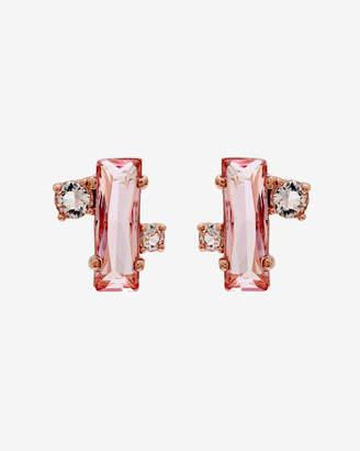 Ted Baker BRIA Crystal baguette earrings