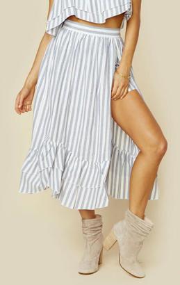 Steele. harper midi skirt $176 thestylecure.com