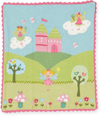 Artwalk Art Walk Kids' Enchanted Castle Scalloped Blanket