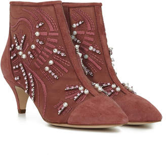 a6ab767962c26 Suede Kitten Heel Boots - ShopStyle Canada