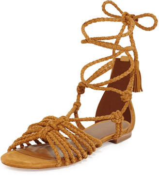 Joie Falk Lace-Up Flat Sandal