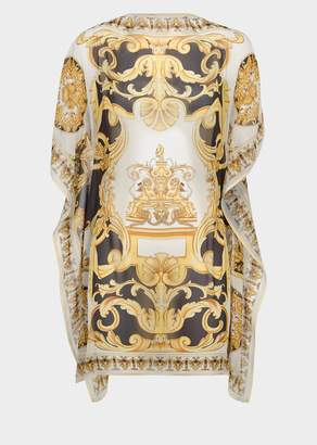 Versace Barocco Silk Cover Up