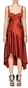 Narciso Rodriguez Women's Silk Charmeuse High-Low Dress - Red