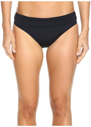 Jantzen - Solids Shirred Waist Bottom Women's Swimwear $56 thestylecure.com