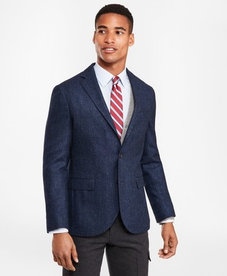 Brooks Brothers Two-Button Wool-Blend Twill Sport Coat