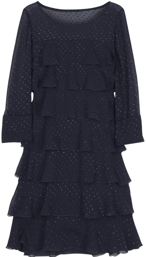 Jay Ahr Tiered mini dress