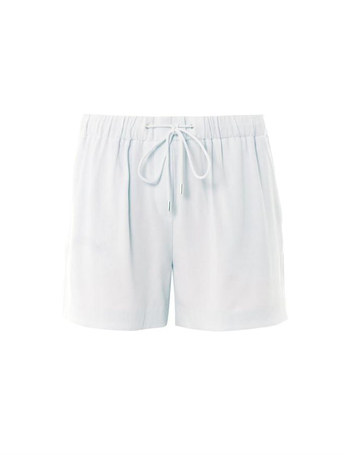 Alexander Wang Crepe tailored track shorts