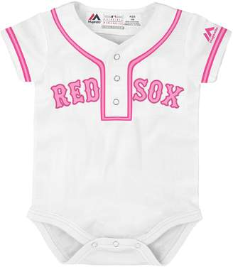 Majestic Baby Boston Red Sox Cool Base Replica Jersey Bodysuit