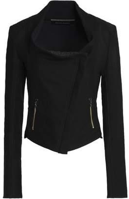 Roland Mouret Cotton-Blend Piqué Jacket